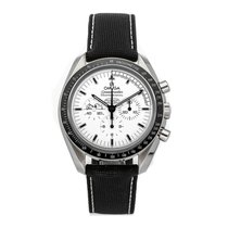 Omega Speedmaster Professional Moonwatch Aço 42mm Prata Sem números