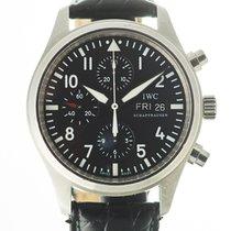 IWC Pilot Chronograph Acél 42mm Fekete Arab Magyarország, Budapest