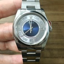 Rolex Oyster Perpetual 36 Steel 36mm Silver (solid) Arabic numerals