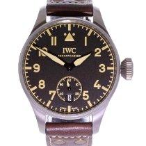 IWC Big Pilot Титан 48mm Черный Aрабские