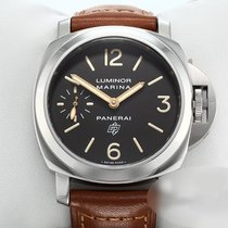 Panerai Luminor Marina Сталь 44mm Коричневый Aрабские