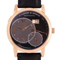 A. Lange & Söhne Grand Lange 1 Rose gold Black Roman numerals