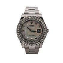 Rolex Datejust II Steel 41mm Mother of pearl No numerals