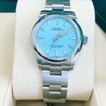 Rolex Oyster Perpetual 31 Steel 31mm Silver No numerals