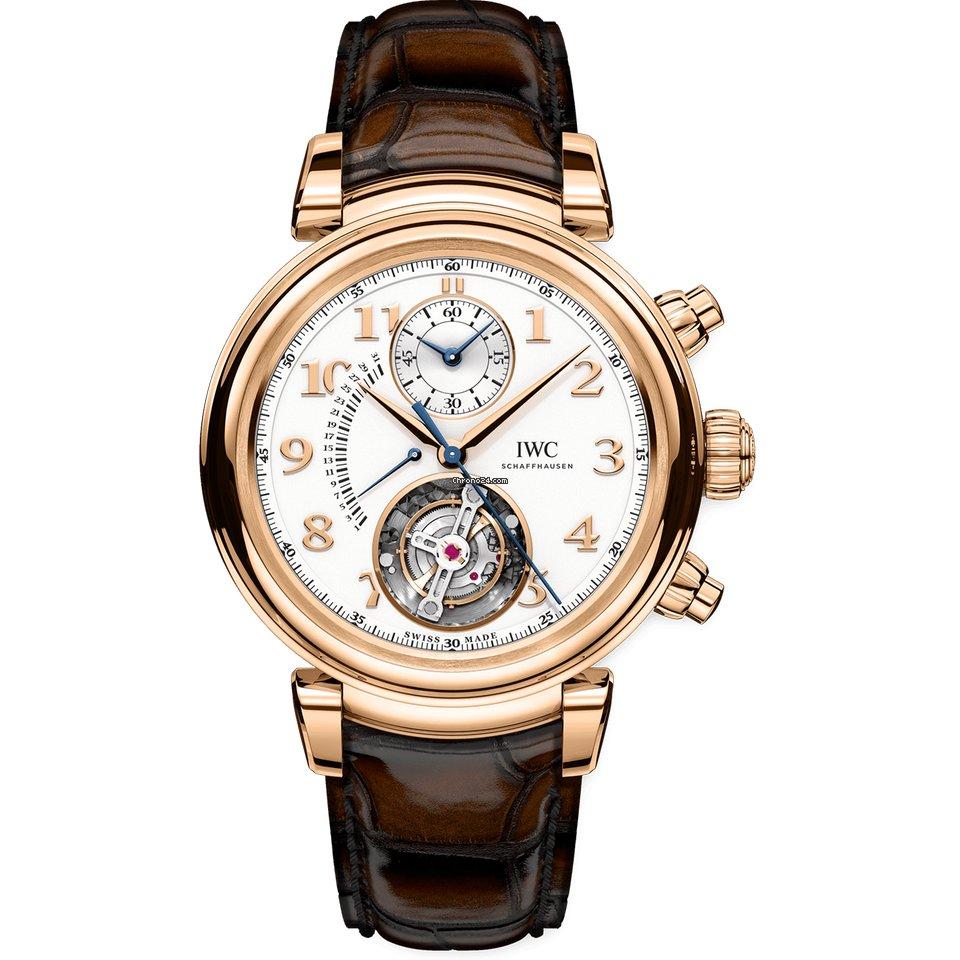 IWC Da Vinci Chronograph IW393101 2021 новые