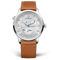Jaeger-LeCoultre Q4128420 or 4128420 Steel 2021 Master Geographic 40mm new United States of America, Iowa, Des Moines