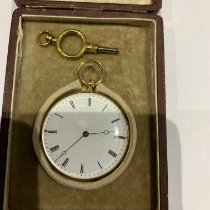 Breguet Watch pre-owned Yellow gold 15mm Manual winding Watch with original box