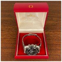 Omega Speedmaster Professional Moonwatch brugt 42mm Sort Kronograf Stål