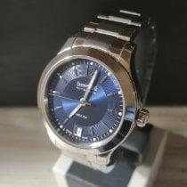 Eberhard & Co. Aiglon Steel 35mm Blue