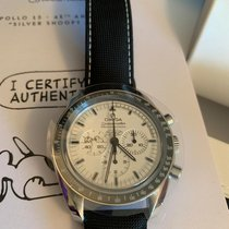 Omega Speedmaster Professional Moonwatch Steel 42mm White No numerals