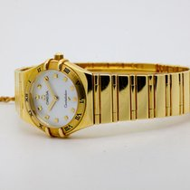 Omega Constellation Quartz Oro giallo 26mm Madreperla Senza numeri Italia, l'aquila