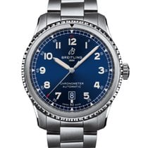 Breitling Aviator 8 Steel 41mm Blue Arabic numerals United States of America, New Jersey, Princeton