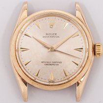 Rolex Oyster Perpetual 31 Yellow gold 31mm Silver No numerals United States of America, Oklahoma, Oklahoma City