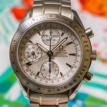 Omega Speedmaster Day Date Steel 40mm Silver United States of America, Illinois, Hanover Park