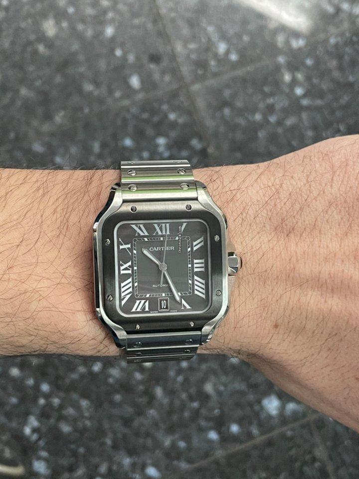 Cartier Santos (submodel) WSSA0037 2021 new