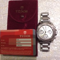 Tudor Sport Chronograph Steel Black No numerals