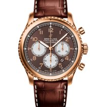 Breitling Navitimer 8 Red gold 43mm Bronze Arabic numerals United States of America, New Jersey, Princeton