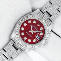 Rolex Lady-Datejust Steel 26mm Red United States of America, California, Los Angeles