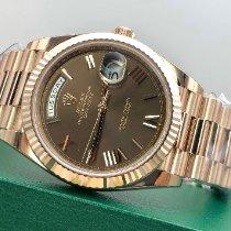 Rolex Day-Date 40 228235 Nem viselt Rózsaarany 40mm Automata