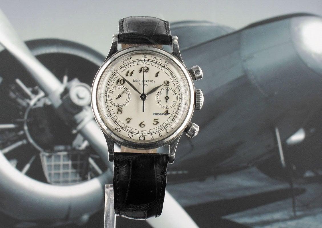 Patek Philippe Chronograph 1463 1950 подержанные