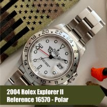 Rolex Explorer II 16570 Very good Steel 40mm Automatic
