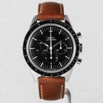 Omega Speedmaster Professional Moonwatch Steel 39.7mm Black No numerals United States of America, Massachusetts, Boston