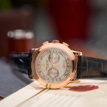 Patek Philippe Chronograph Pозовое золото 42mm Cеребро Aрабские