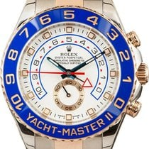 Rolex Yacht-Master II pre-owned 44mm Chronograph Rose gold