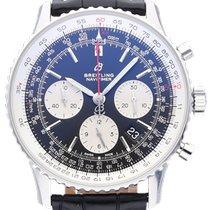 Breitling Navitimer 1 B01 Chronograph 43 neu 2021 Automatik Chronograph Uhr mit Original-Box und Original-Papieren 43 AB0121211B1P1