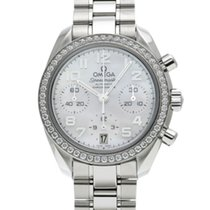 Omega Speedmaster Ladies Chronograph Acier 38mm Blanc