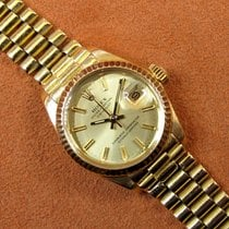 Rolex Lady-Datejust occasion 26mm Or Date Plis