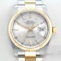 Rolex Lady-Datejust Gold/Stahl 36mm Silber Römisch Deutschland, München