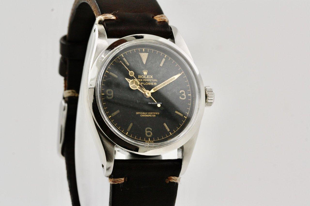 Rolex Explorer 6610 1960 pre-owned