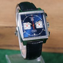 TAG Heuer Monaco Calibre 12 Steel 39mm Blue