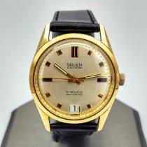 Gruen Precision Gold/Steel 33.6mm Champagne No numerals United States of America, Illinois, Roscoe