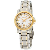 Seiko Premier Steel 28mm Silver Roman numerals United States of America, New Jersey, Somerset