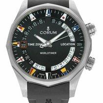 Corum Admiral's Cup (submodel) nuevo Automático Reloj con estuche y documentos originales 637.101.04/F371 AN02