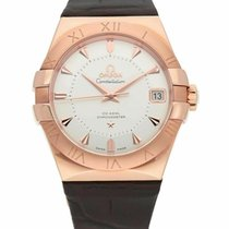 Omega Constellation Men new Automatic Watch with original box and original papers 123.53.38.21.02.001