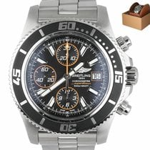 Breitling Superocean Chronograph II Steel 44mm Black United States of America, New York, Smithtown