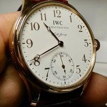 IWC Portuguese Hand-Wound Rose gold 43mm White United States of America, North Carolina, Winston Salem