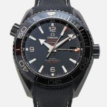 Omega Seamaster Planet Ocean подержанные 45.5mm Каучук