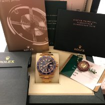 Rolex Submariner Date Yellow gold 40mm Black No numerals United States of America, Texas, Plano