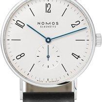 NOMOS Tangente 38 Stahl 37.5mm Weiß