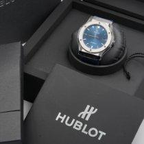 Hublot Classic Fusion Blue Titanio 45mm Azul Sin cifras