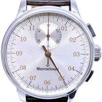 Meistersinger Singular Steel 43mm Silver No numerals