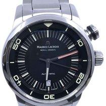 Maurice Lacroix Pontos S Diver Steel 43mm Black No numerals United States of America, Florida