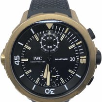IWC Bronze Automatic Black Arabic numerals 44mm pre-owned Aquatimer Chronograph