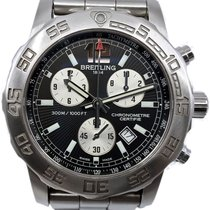 Breitling Colt Chronograph II Steel 44mm Black No numerals United States of America, Florida