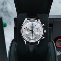 泰格豪雅 Carrera 钢 39mm 银色 无数字 中国, shanghai