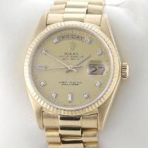 Rolex Day-Date 36 18038 Хорошее Желтое золото 36mm Автоподзавод